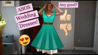 Wedding Planning | Asos Wedding Dresses!