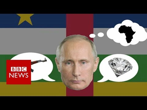 Russia and the Central African Republic: A curious relationship - BBC News