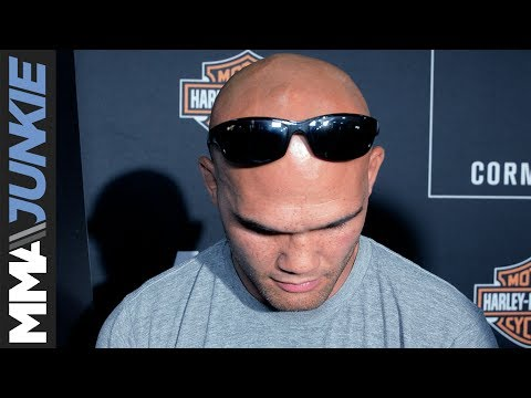 Robbie Lawler admittedly struggling with Matt Hughes' recent accident