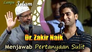 Dr. Zakir Naik Berhasil Menjawab Pertanyaan Sulit Seorang Pemuda