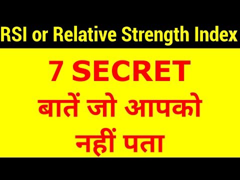RSI or Relative Strength Index - 7 Imp Points No One Tells You | HINDI
