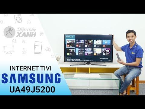Internet Tivi Samsung UA49J5200 - Mạnh Mẽ Và Sang Trọng | Điện Máy XANH