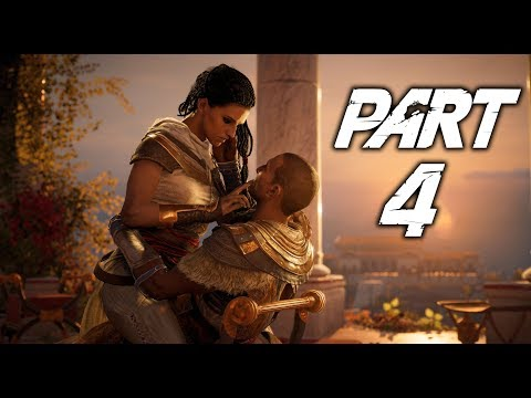 ASSASSIN'S CREED ORIGINS Walkthrough Gameplay Part 4 - Snake