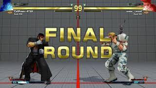 SFV~ Guile (some_casual) vs. Ryu (CaliPower-RTSD) HD 8