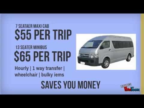 Maxi Cab & 13 Seater Minibus Booking