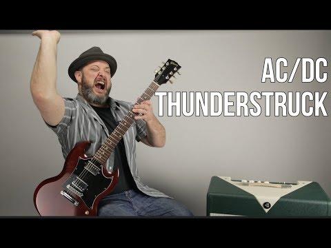 """Thunderstruck"" Guitar Lesson - AC/DC"
