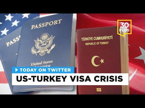 US-Turkey visa crisis | Today on Twitter