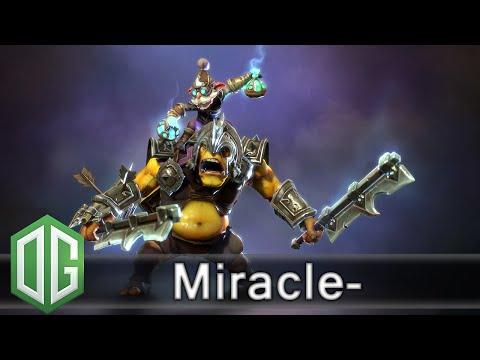 OG.Miracle- Alchemist Gameplay - Unranked Match - OG Dota 2