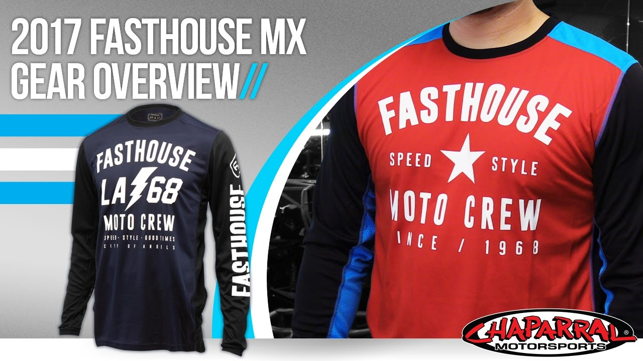 acc3712e0 2017 Fasthouse MX Gear Overview at Chapmoto.com - YouTube