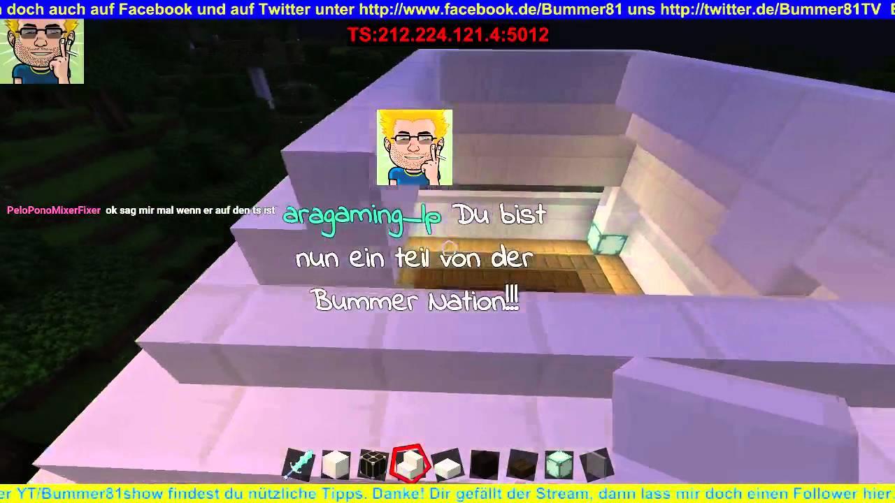 Ger Minecraft Vanilla Creative Server Deutsch