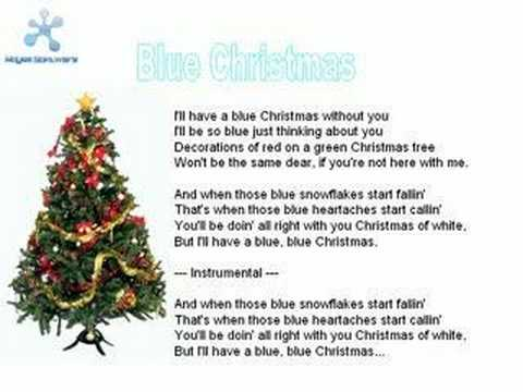 Jim Reeves - Blue Christmas Lyrics