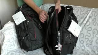 Видеообзор рюкзаков WENGER SCANSMART III (два новых цвета) и IV