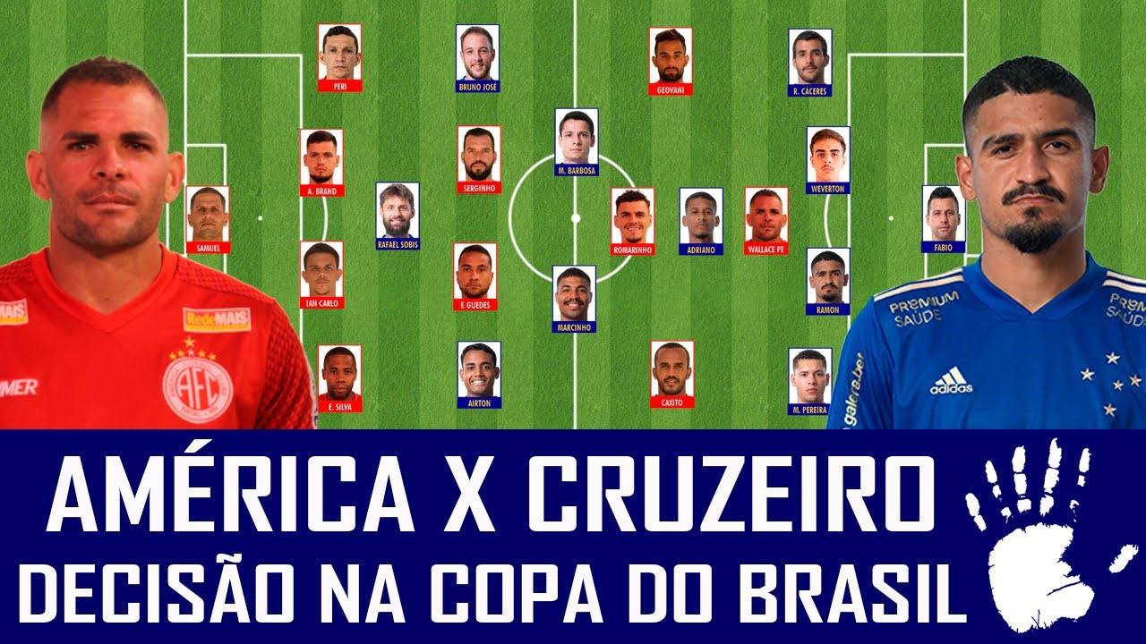 PRÉ-JOGO: AMÉRICA-RN X CRUZEIRO - COPA DO BRASIL