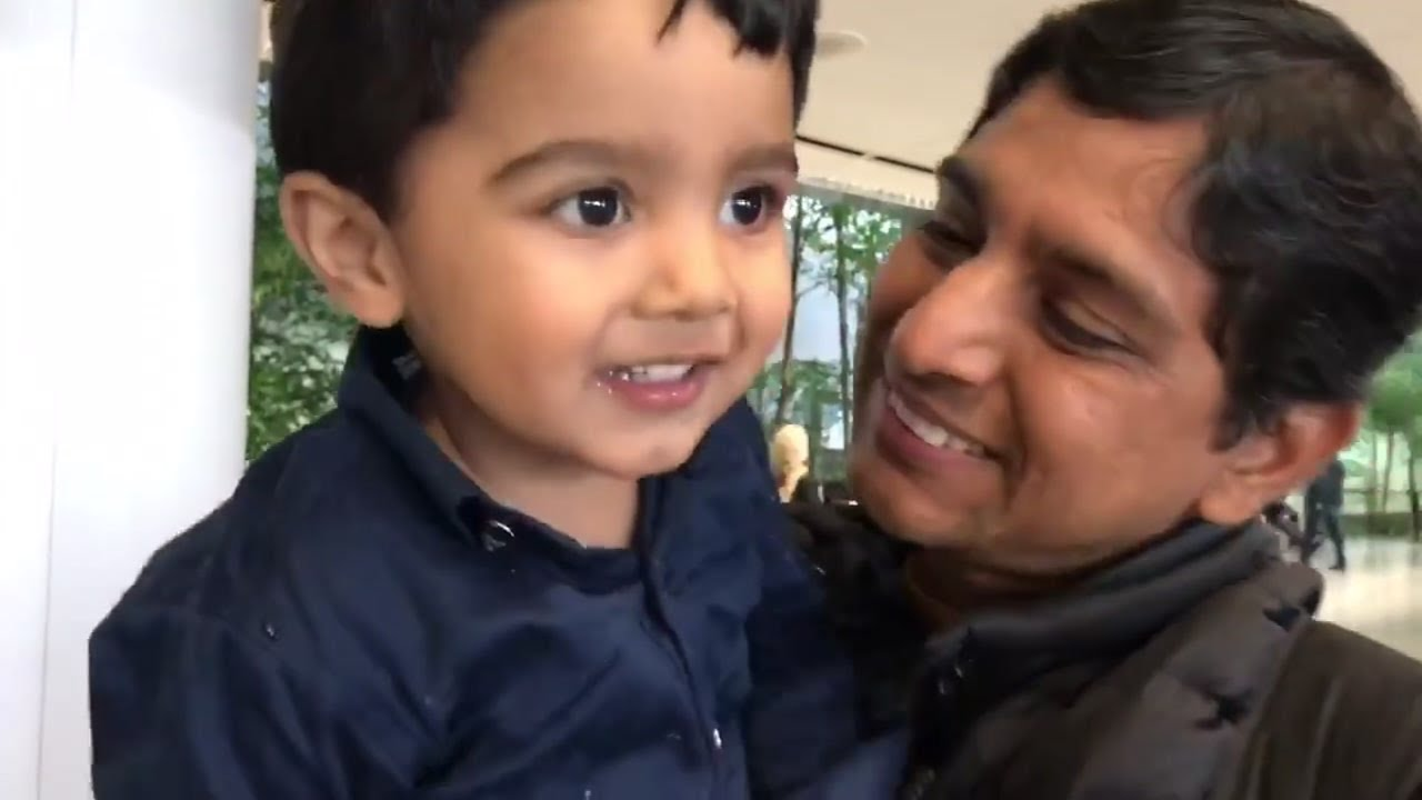 Heartwarming reunions fill SFO's arrivals terminal just in time for the holidays