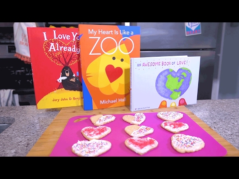 Valentine's Day Heart-Shaped Cookies | Story Time Snacks