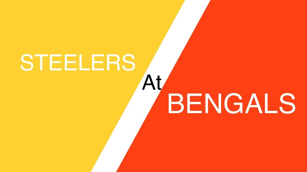 Steelers Vs Bengals 2019 Pittsburgh At Cincinnati Prediction Nfl Week 12 Betting Picks Odds