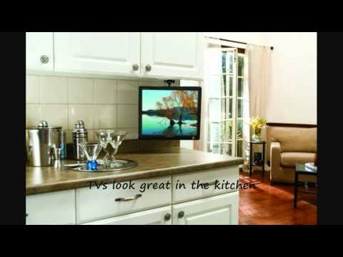 under cabinet kitchen tv dvd combo reviews 2014 flip ceiling mount best buy