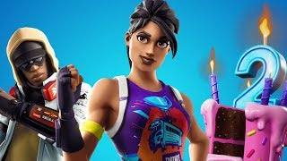 EVENT *FORTNITE BIRTHDAYS* FREE GIFTS COMING SOON! PLAYING WITH LIVE SUBS - Pablo017