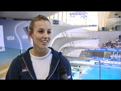 Interview with Tania Cagnotto - Diving World, London