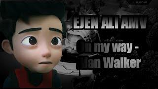 Ejen Ali [AMV] - On My Way by Alan Walker ft. Sabrina Carpenter & Farruko (With Lyrics)