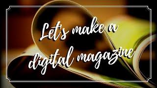 Het Maken van een Interactief Magazine met Adobe InDesign & Issuu | De Elektrische Typerwriter