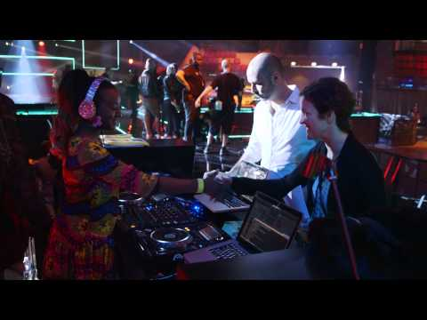 Behind the Scenes: Cuppy At The MTV African Music Awards 2014