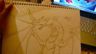 Bakugan: Original Dragonoid  Drawing