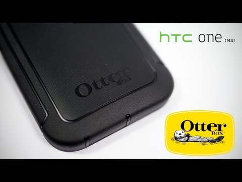 HTC One M8 - Otterbox Defender Case Review
