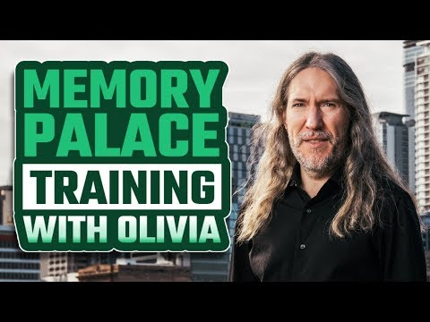 Memory Palace Training Exercise and Brain Exercise with Olivia