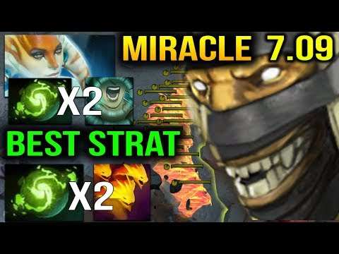 MIRACLE New Supporter's Life 7.09 - BEST STRAT WITH GH's NAGA Dota 2