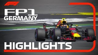 2018 German Grand Prix: FP1 Highlights