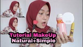 Tutorial Make Up Natural+Simple sehari hari || Maya Firanti Nur