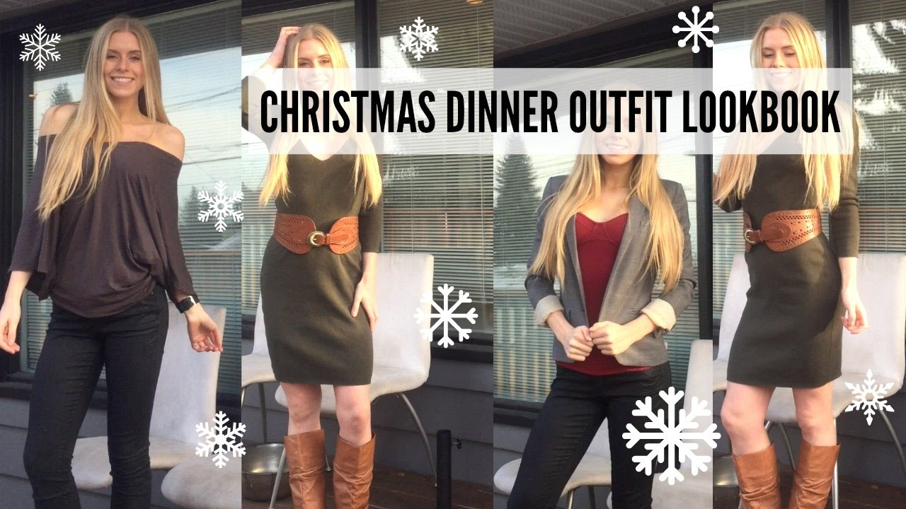 christmas dinner outfit