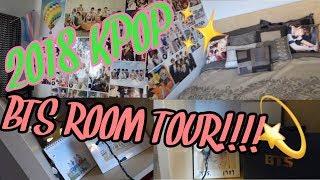 2018 KPOP/BTS ROOM TOUR!!!!!