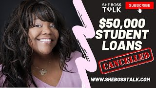 $50,000 STUDENT LOAN CANCELLED| STIMULUS UPDATE AND STIMULUS CHECK REPORT | SEPT 20, 2020 | SHE BOSS