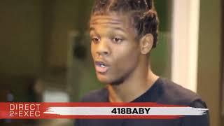 418baby Performs at Direct 2 Exec Atlanta 9/9/18 - Atlantic Records