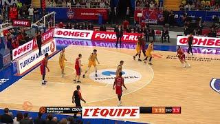 Le match 1 pour le cska moscou - basket - euroligue (h) - quart de finale