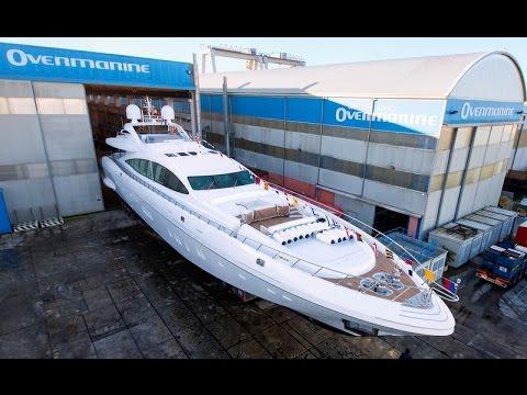 #Mangusta 165E by Overmarine Group#Super Yacht#LIVE RICH