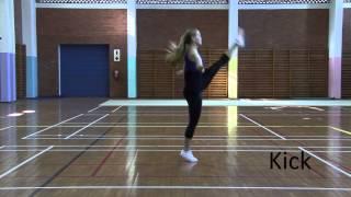 SA Gymnastics Aerobic Baṡic Step Routine