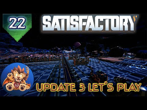 Satisfactory Update 3 - Space Elevator Parts - Exploration - Cave Spelunking - Let's Play - EP22