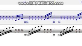 [카트라이더] 어비스 너울대는 파도처럼 BGM 피아노 악보화