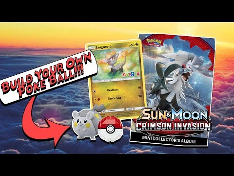 Build Your Own Poke Ball At The TOYSRUS Pokemon Event & Crimson Invasion Opening!!!