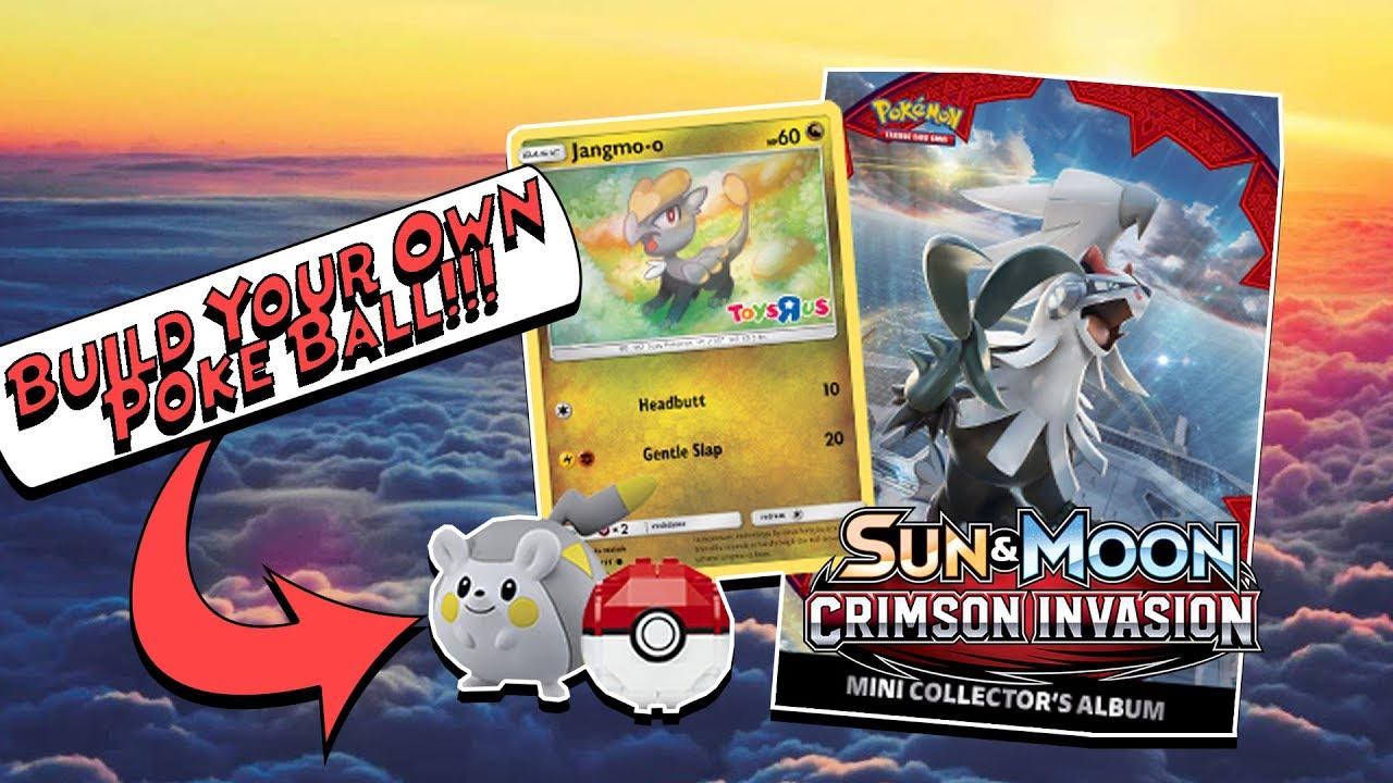 Sun /& Moon Crimson Invasion Collector/'s Album Pokemon Toys R Us New