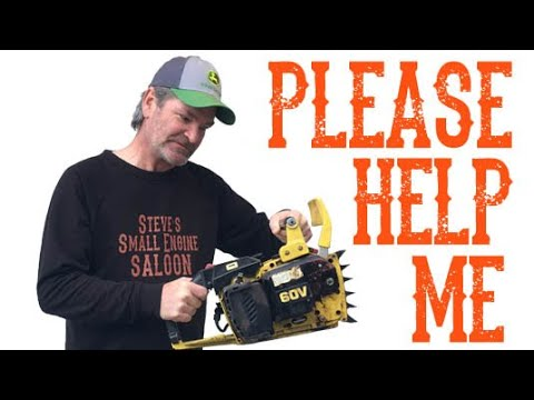 I Can Not Fix This ChainSaw - Video