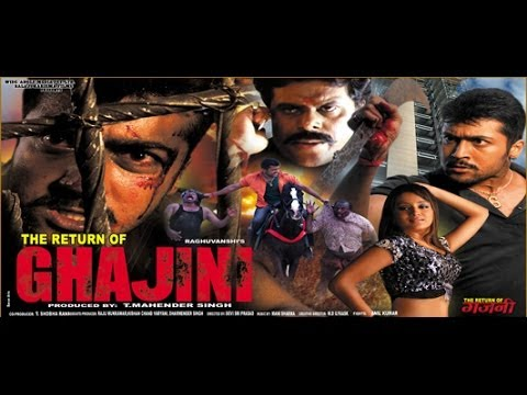 The Return Of Ghajini - Full Length Action Hindi Movie