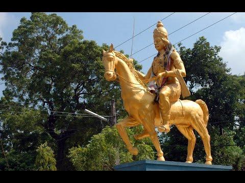 Last king of the Jaffna kingdom Cankili Statue சங்கிலியன் சிலை