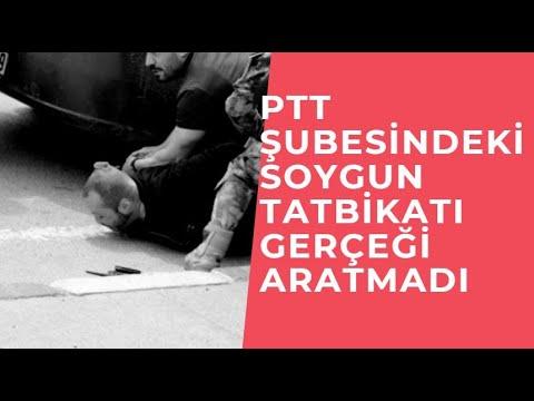 Nefes kesen PTT Şubesindeki soygun tatbikatı gerçeği aratmadı