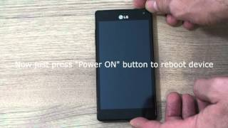 LG Optimus 4X HD P880 hard reset