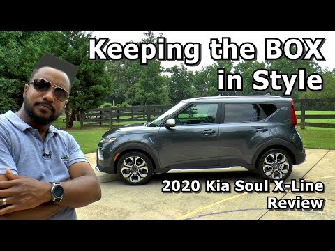 2020 Kia Soul X Line Review Keeping The Box In Style Youtube