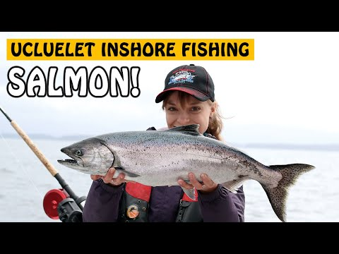 UCLUELET INSHORE CHINOOK SALMON FISHING! | Fishing With Rod